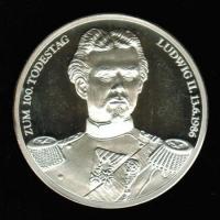 100. Todestag von Ludwig II. König von Bayern, Silber