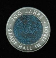 25 Euro 2003, 700 Jahre Stadt Hall in Tirol, NIOB + Silber