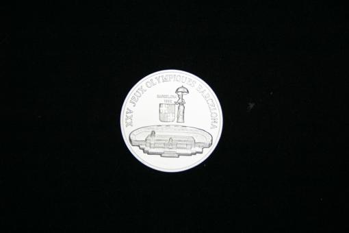 Guinea 300 Francs 1988, Olympiade Barcelona 1992, Olympiastadion ''