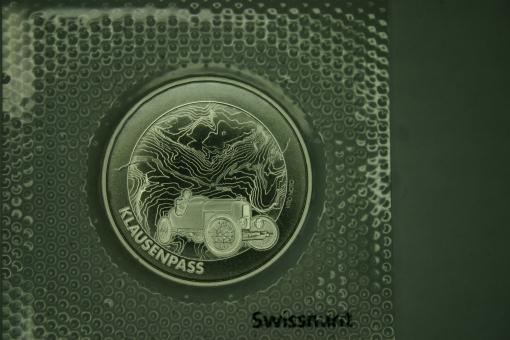 Münze: 20 Franken, 2018, Klausen-Pass ''
