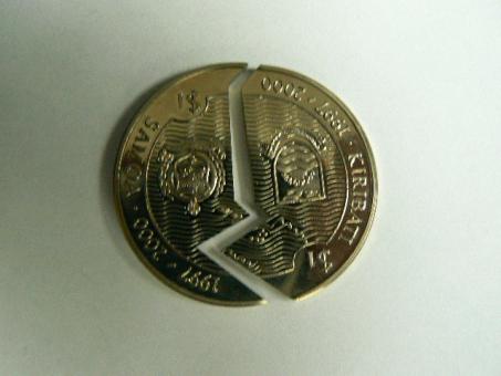 Münze 1 Dollar 2000 'Millennium' Kiribati und Samoa, KM*41 ''
