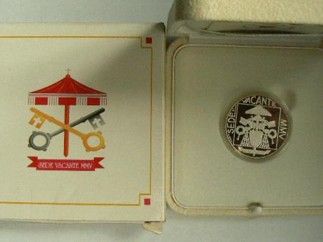 5 Euro 2005 Vatican Sede Vacante 2005 ''