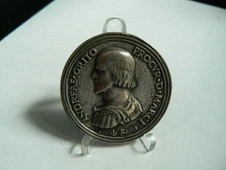Medaille Venedig Andrea Gritti 77. Doge von Venedig ''