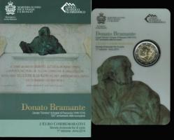 San Marino: 2 Euro 2014, Donato Bramante, in OVP, nur 1 x vorhanden