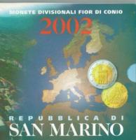 San Marino: Euro-Kursmünzensatz 2002, Ausverkaufs-Angebot