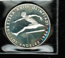 Nur je 1x auf Lager! Polen: 200 Zlotych 1984, Y*150, Hürdenläufer, Olympiade 1984 in Los Angeles, 17,6/750 Silber
